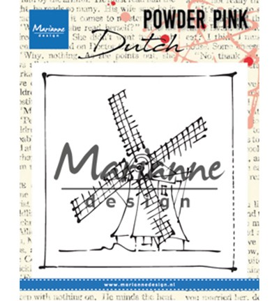 PP2802 - Powder Pink – Windmill stempel