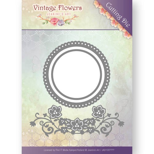 Dies - Jeanine`s Art - Vintage Flowers - Flowers and Circles