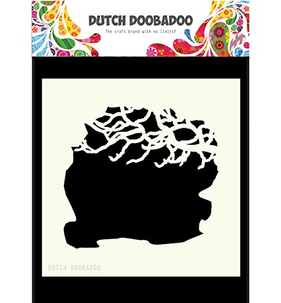 Dutch  Mask Art  Tree Branches