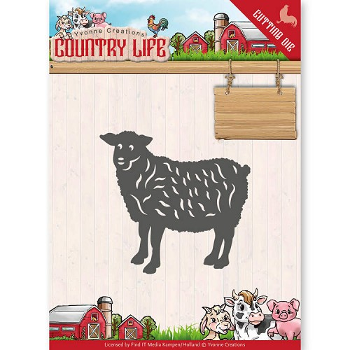Dies - Yvonne Creations - Country Life Sheep