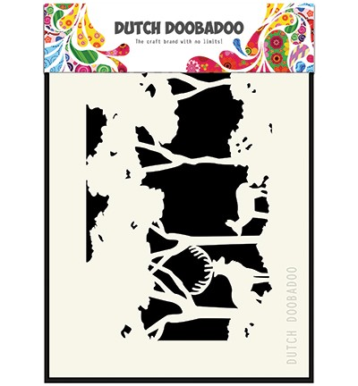 Dutch Doobadoo Mask Art Forest