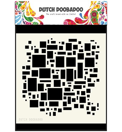 Dutch Doobadoo Mask Art Blocks