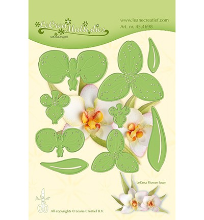 LeCrea`Multi Die Cutting/Emb. flower 012 Orchidee