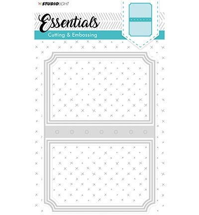 Embossing Die Cut Stencil Essentials nr.97 ticketmal