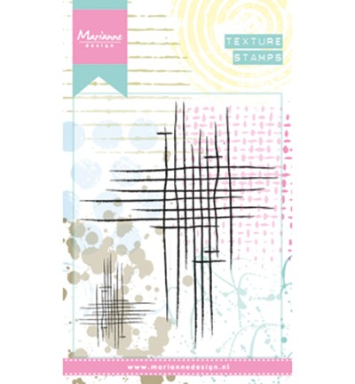 MM1624 - mixed media Doodle stripes