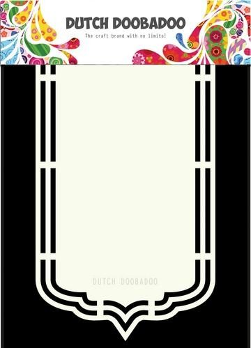 Dutch Doobadoo Dutch Shape Art Bookmark