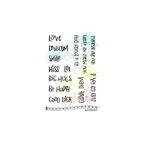 rubber stamp Carpe diem