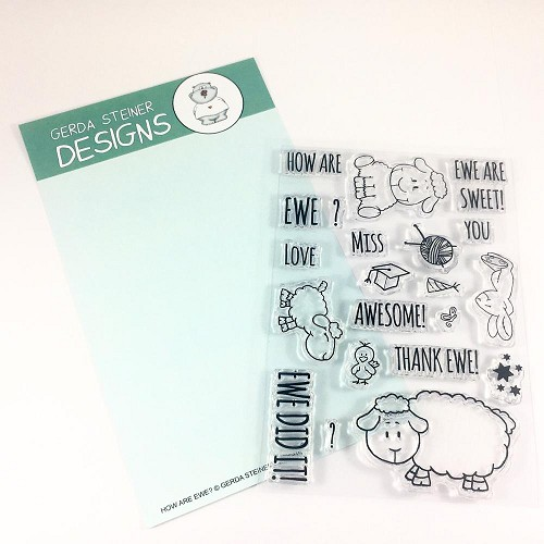 How are Ewe? 4x6 Clear Stamp Set
