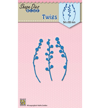 SDB049 - Shape Dies blue Twigs