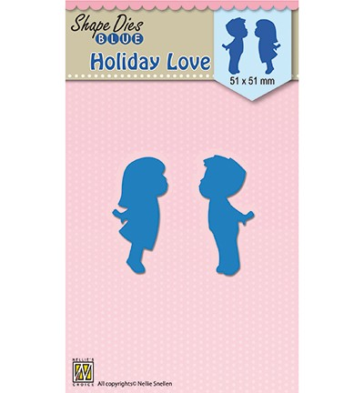 SDB048 - Shape Dies blue Holiday love