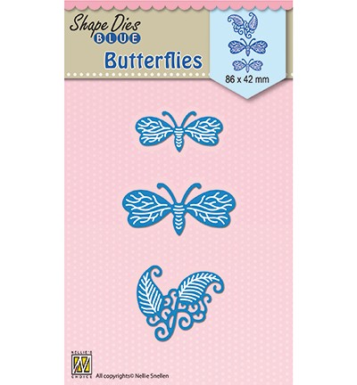 SDB039 - Shape Dies blue Butterflies