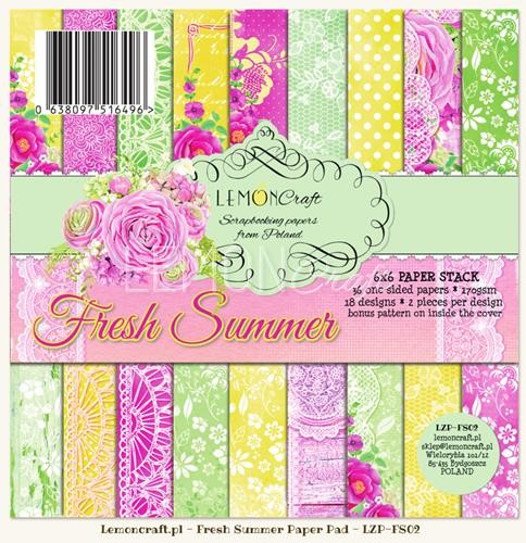 "Paper Collection Set 6""*6"" Fresh Summer"