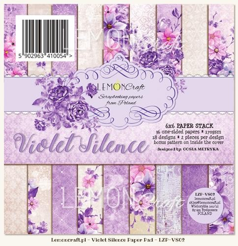 "Paper Collection Set 6""*6"" Violet Silence"