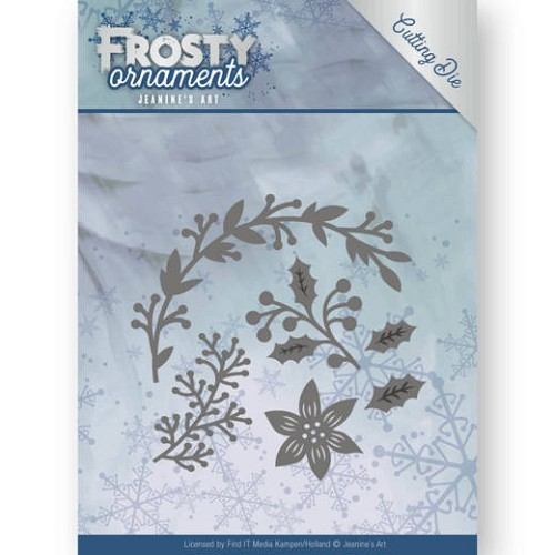 Dies - Jeanine`s Art - Frosty Ornaments - Christmas Branches