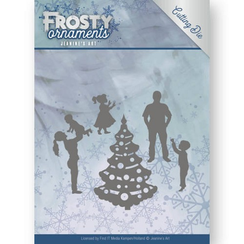 Dies - Jeanine`s Art - Frosty Ornaments - Happy Family