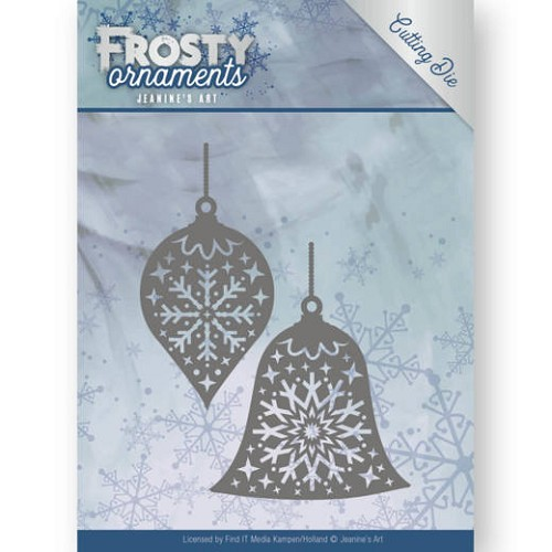 Dies - Jeanine`s Art - Frosty Ornaments - Christmas Baubles