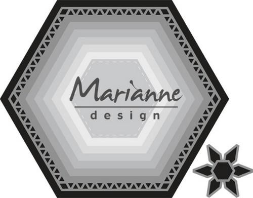 cr1444 Marianne D Craftable Basic zeshoek