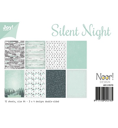 6011/0570 Papierset- Noor - Silent Night