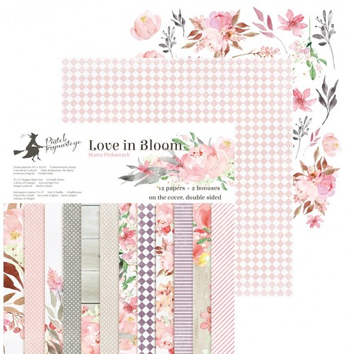 Love in Bloom 12x12 Paper Pad