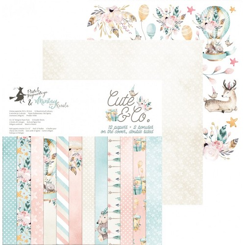 "Cute & Co 6x6"" Paper Pad"