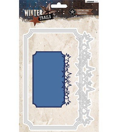 STENCILWT108 - Cutting and Embossing Die Winter Trails