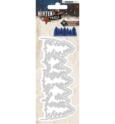 STENCILWT106 - Cutting and Embossing Die Winter Trails