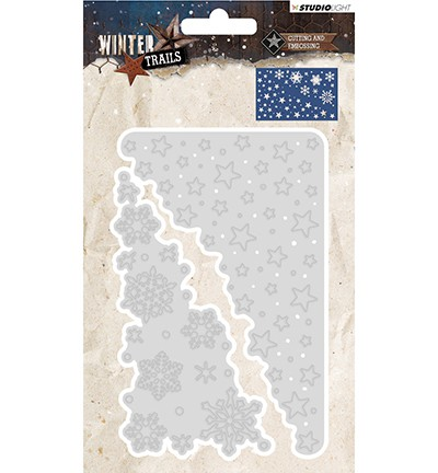 STENCILWT105 - Cutting and Embossing Die Winter Trails