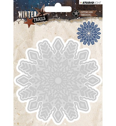 STENCILWT103 - Cutting and Embossing Die Winter Trails