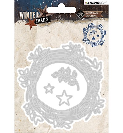 STENCILWT101 - Cutting and Embossing Die Winter Trails