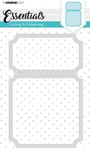 Studio Light Embossing Die Cut Stencil Essentials Nr.116