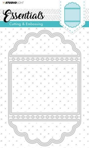 Studio Light Embossing Die Cut Stencil Essentials Nr.115