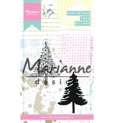 mm1625 Cling Stamps Tiny`s Christmas tree
