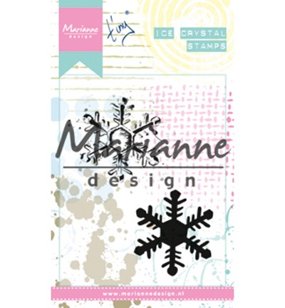 mm1626 Cling Stamps Tiny`s ice crystal