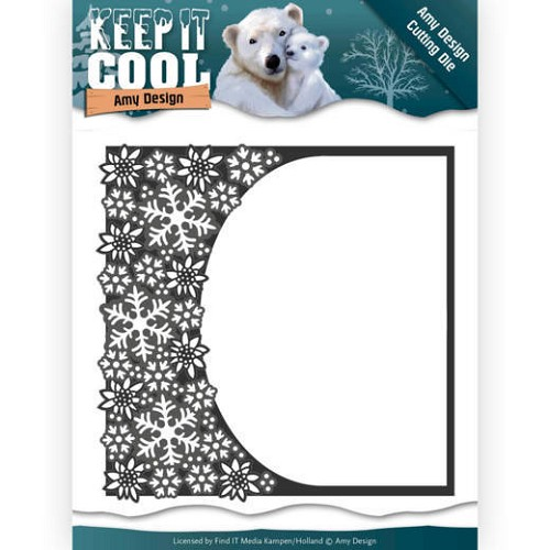 Dies - Amy Design - Keep it Cool - Cool Rounded Frame