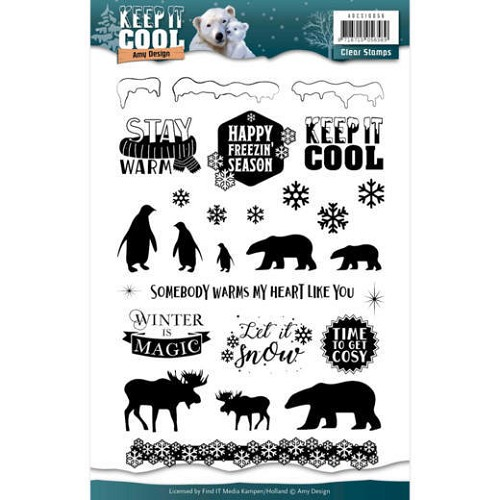 Clearstamp - Amy Design - Keep it Cool