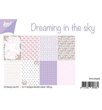 6011/0596 - Papierset - Dreaming in the sky
