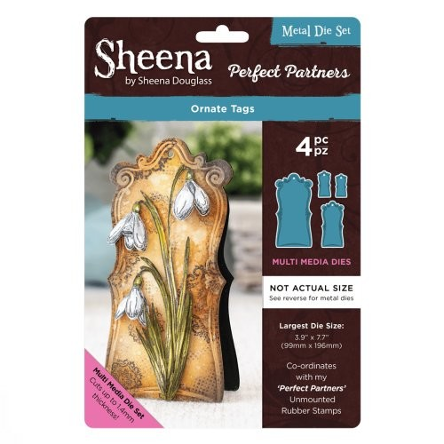 Sheena Douglass Perfect Partners Die – Ornate Tags