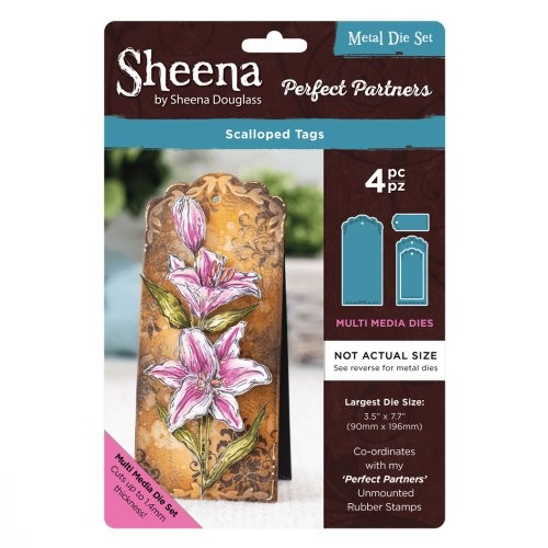 Sheena Douglass Perfect Partners Die – Scalloped Tags