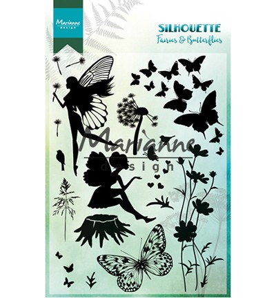 CS1016 - Silhouette Fairies & Butterflies
