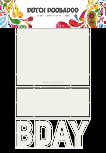 470.713.698 Dutch Doobadoo Dutch Card Art B-day A4