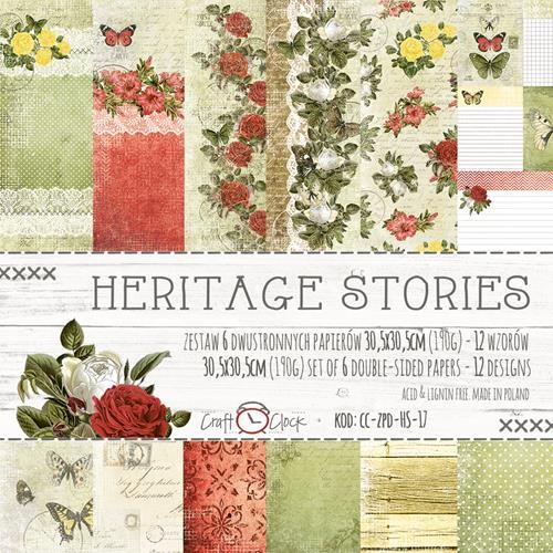 "Paper Collection Set 12""*12"" Heritage Stories"