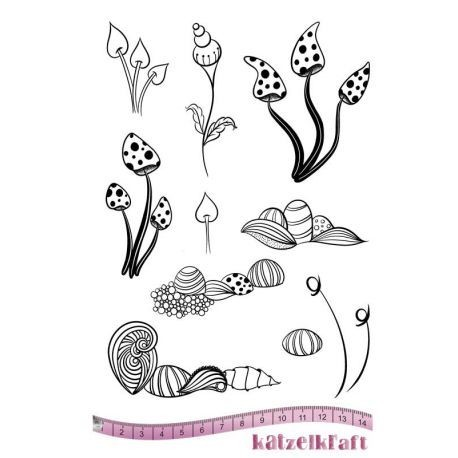 Rubberstamp Whimsy fleurs