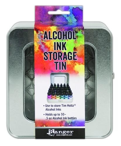 Ranger Alcohol Ink Storage Tin  Tim Holtz