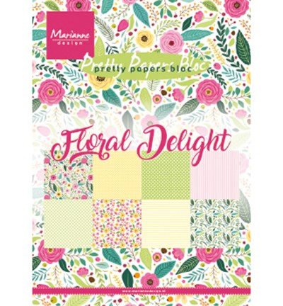 PK9161 - Floral Delight paperpad