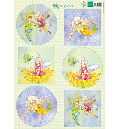 HK1706 - Knipvel Hetty`s Fairies