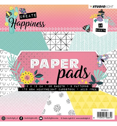 PPCR111 - Paper Pad, Create Happiness nr.111