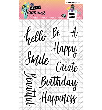 STAMPCR346 - Stamp Create Happiness nr.346