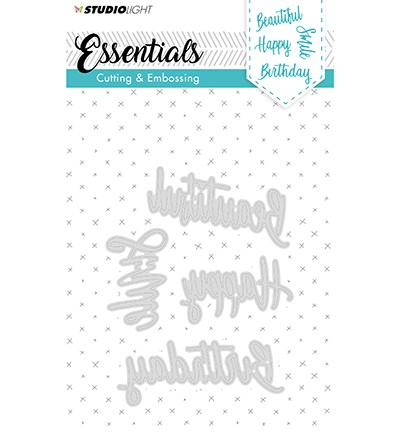 STENCILSL163 - Cutting and Embossing Die Essentials nr.163