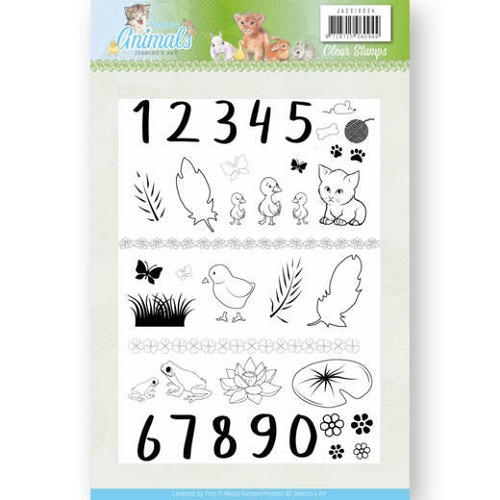 Clear Stamps - Jeanine's Art - Young Animals