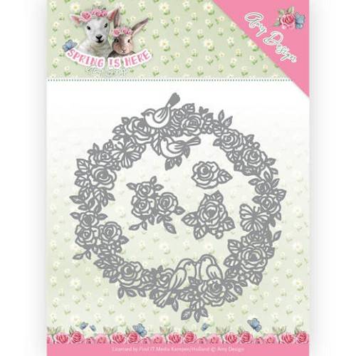 Dies - Amy Design - Spring is Here - Circle of Roses